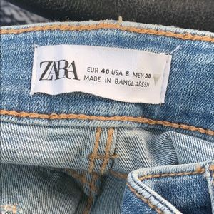 Zara Mid-Rise Jeans